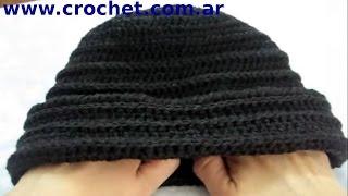 Como Tejer Un Gorro En Tejido Crochet Tutorial Paso A Paso
