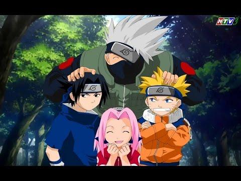 [HTV3Naruto] Tập 3 -Đối thủ Sasuke và Sakura - HTV3 lồng tiếng Phần 1 Full HD