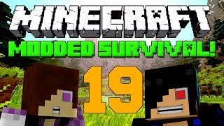 NEW MODS [Minecraft: Modded Survival - Episode 19]