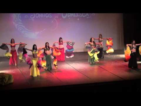 DANÇA DO VENTRE- CIA SHAMSA NUREEN