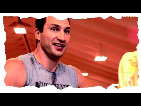 WLADIMIR KLITSCHKO TRAINING CAMP
