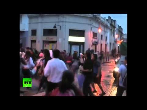 Забастовка полицейских привела к