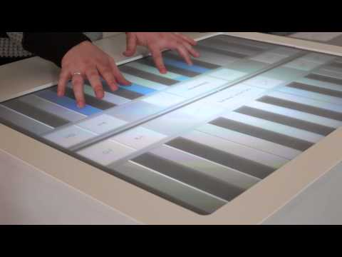 BeeG-StaKe - A Multi-Touch Music Instrument @ Reutlingen University 2014