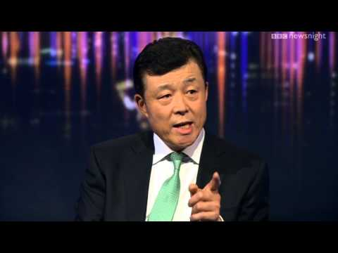 NEWSNIGHT: Japanese and Chinese ambassadors on island dispute