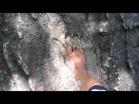 Dấu chân người khổng lồ tại núi Cậu - Hồ Dầu Tiếng