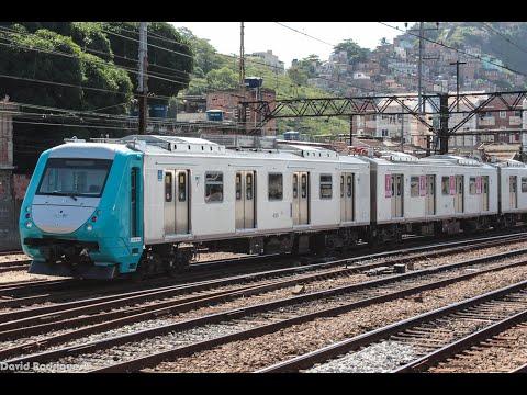 Viagem inaugural do Alstom Metropolis Série 4000