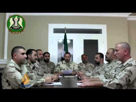 Syrian rebels split over FSA leader's sacking