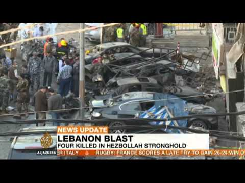 Deadly car bomb strikes eastern Lebanon