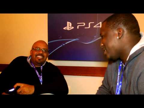 NBA 2K14 For The Playstation 4 Interview Rob Jones @GamerFitnation