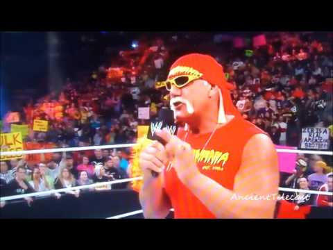 Hulk Hogan Returns! WWE RAW Feb 24th 2014
