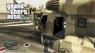 "GTA 5 Online How To Buy ""Cargobob"" & Purchase Rhino Tank"