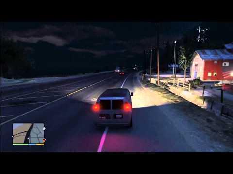 GTA 5: RARE HIDDEN WEAZEL NEWS VAN Dodge Ram Van Bravado Rumpo) Gameplay Review,