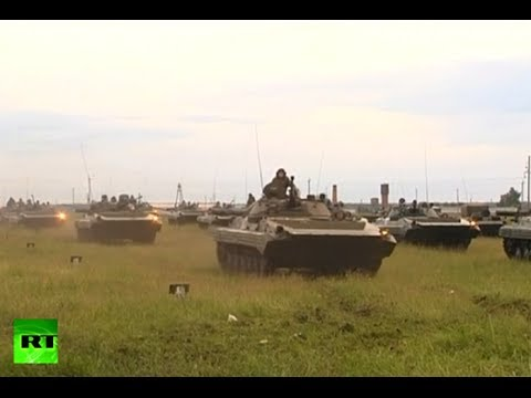 Video: Putin orders surprise drills in central Russia
