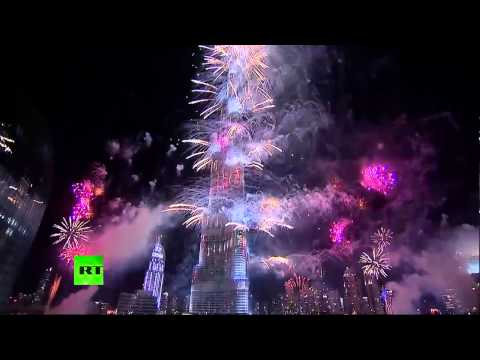 New Year 2014 around the World