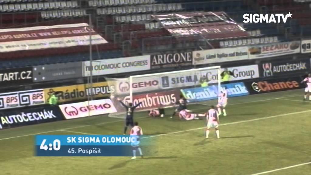 Sigma Olomouc 5-1 Slavia Praha