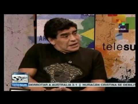 De Zurda - Maradona y Víctor Hugo con Radamel Falcao( parte 1 /4)