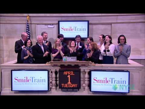 Smile Train Celebrates Charity Milestone at the New York Stock Exchange