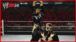 WWE 2K14 Created Superstars: Goldust And Stardust