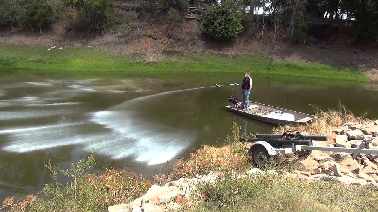 for Fish pond management