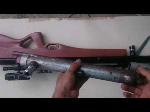 Chế súng hơi pcp p26 - cách làm bầu hơi và lò xo búa đập chuẩn