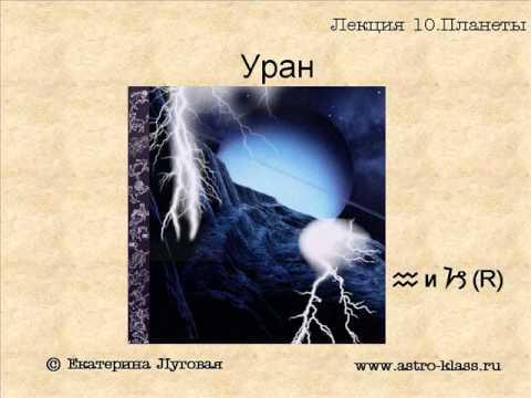"""Курс по астрологии """"Структура гороскопа"""". Урок 10. Планеты ч.2"""