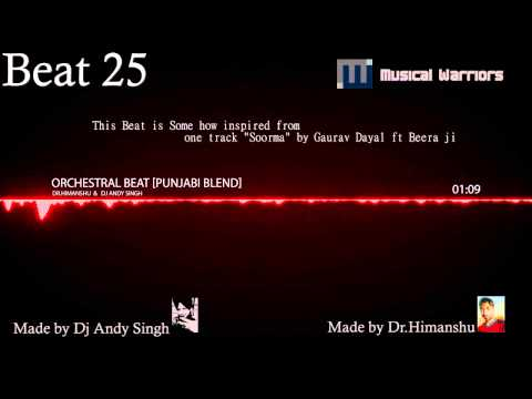 [Beat 25] Orchestral Beat (Punjabi Blend) || Dr.Himanshu and Dj Andy Singh || UK VIBE