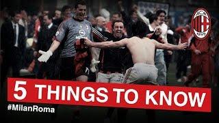 AC Milan-Roma: 5 things to know | AC Milan Official