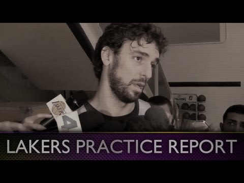Lakers Practice: Pau Gasol On Lakers Last Regular Season Game Without Kobe