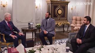 Saudi Crown Prince Mohammed Bin Salman's US tour highlights