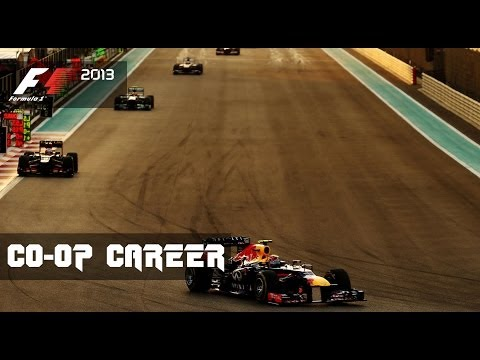 F1 2013 CO-OP Career - Round 17 Abu Dhabi Grand Prix