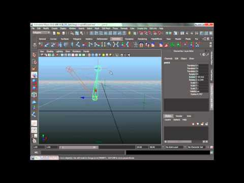 Create a switchable IK/FK character rig in Maya (3 of 12)