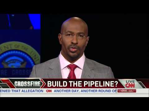 Van Jones debunks myths behind the Keystone Pipeline on Crossfire