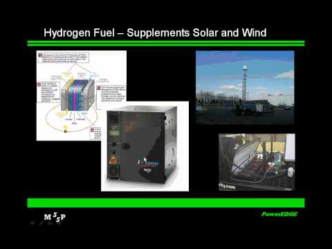 Site Security and Communications Using Multiple Green Power Sources Foran