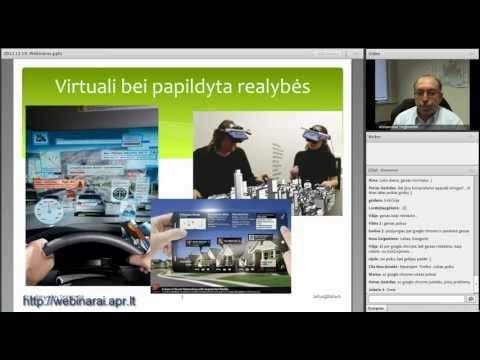 2012.12.19 Aleksandras Targamadzė. Šiuolaikinis virtualus mokymasis: metodikos ir technologijos