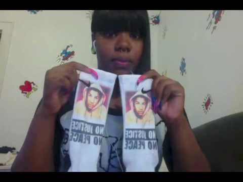 trayvon martin elite socks proof video youtube