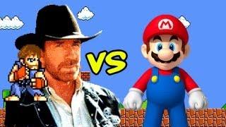 Chuck Norris vs Mario