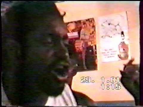 Capoeira Mestre Liminha e Mestre João - Recife 2001