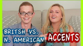 BRITISH V.S. NORTH AMERICAN ACCENTS RyanThomasWoods