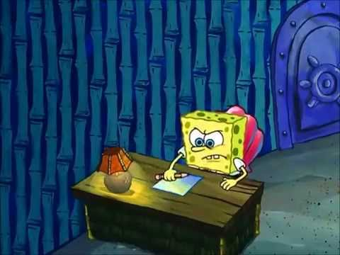 spongebob writes an essay episode