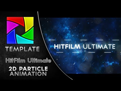 FREE Particle Intro Template - HitFilm 2 Ultimate