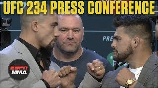 UFC 234 Press Conference   Whittaker vs. Gastelum, Silva vs. Adesanya [FULL]   ESPN MMA