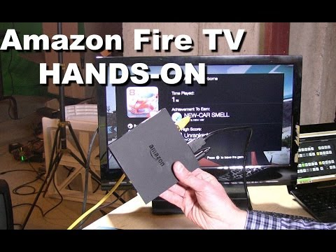 Amazon Fire TV Hands-On Review - Plex, Gaming, MKV, Bluetooth Controllers, Interface