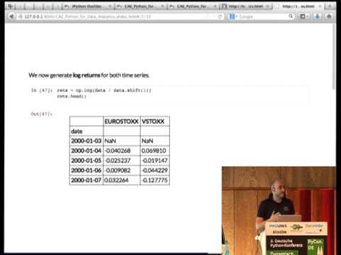 Image from Interaktive Datenanalyse und Visualisierung mit Python, pandas & Co.