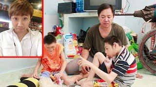 Trấn Thành lên tiếng bênh việc về thông tin ông bố đơn thân nuôi 2 con teo não trục lợi từ thiện