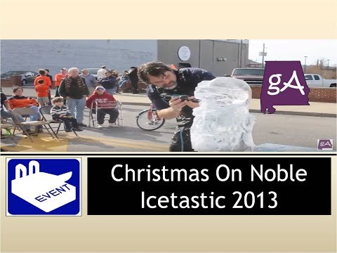 Christmas on Noble: Icetastic 2013
