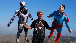 เจ๋งอ่ะ เครื่องบินบังคับทรง Ironman และ Superman