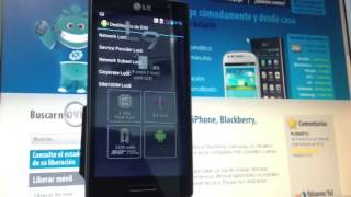 Liberar LG Optimus L9, P760 En Minutos, Movical.Net