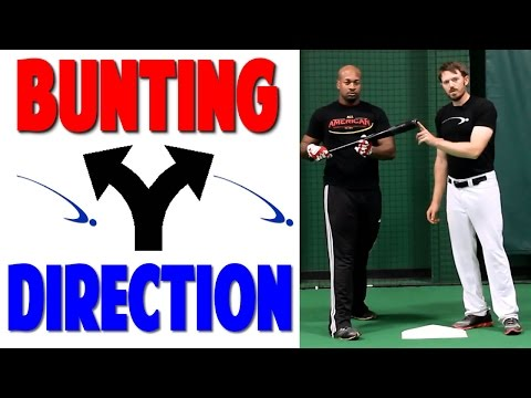 Baseball Bunting Series | Bunt Direction | Video 2 of 3 (Pro Speed Baseball)