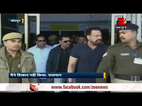 Blackbuck poaching case: Salman Khan appears before court