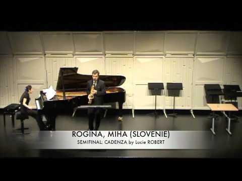 ROGINA, MIHA (SLOVENIE) Cadenza By Lucie Robert